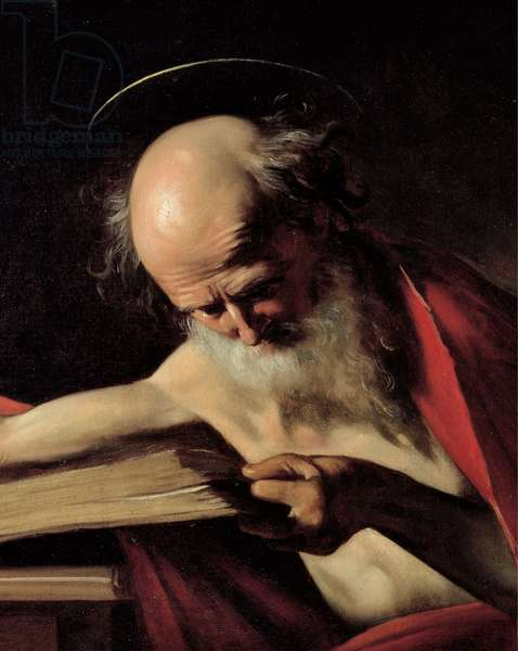 St Jerome, 1605 (oil on canvas)