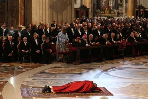 Pope Francis on Holy Friday (photo)