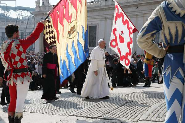 General audience of Pope Francis (photo)