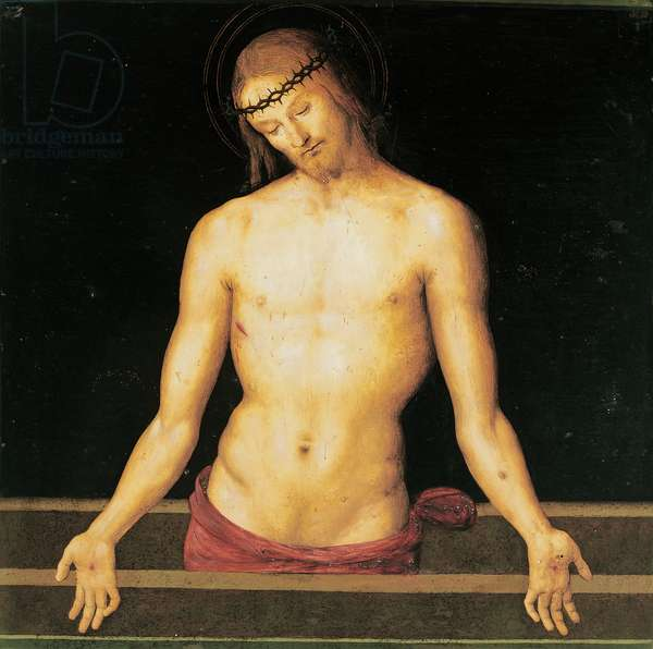 Jesus Christ on the Sarcophagus, 1445 - 1523 (panel)