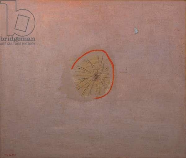 Revolt (Rivolta), by Giulio Turcato, 1948-1949, 20th century (oil on canvassed paper) 90 x 115 cm