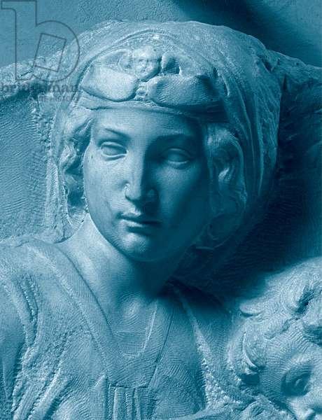 Tondo Pitti, 1503 - 1505 (bas relief on marble)