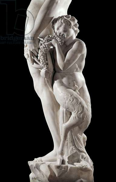 Baccus, by Michelange Buonarroti, 1496 - 1497, 15th Century, marble