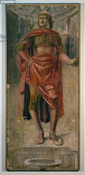 Man with a Broadsword, 1480 (fresco torn down)