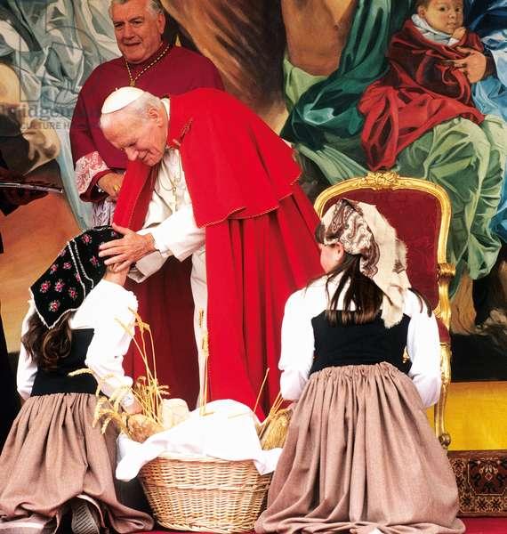 Pope John Paul II, Italy, 1993 (photo)