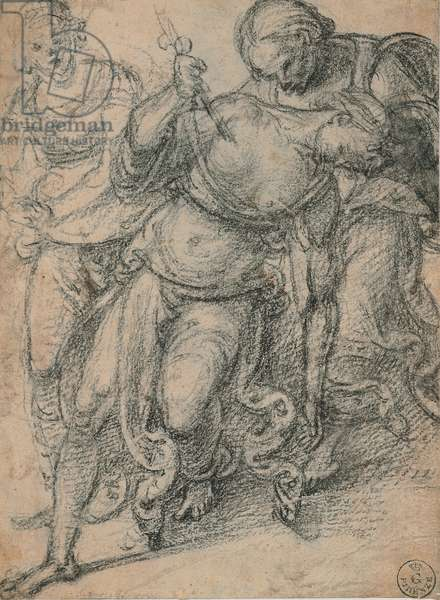 Death of Lucretia, 1498 - 1498 (black pencil)