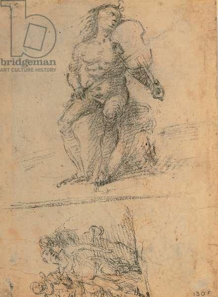 Apollo - Lucretia's Sacrifice, 1498 - 1498 (black pencil)
