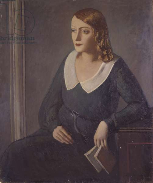 Figure of a woman, 1930-32 (oil on canvas)