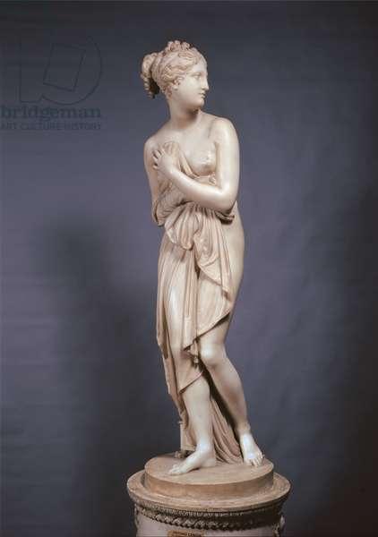 Venus Italica, 1804 - 1812 (marble, full relief)