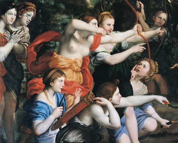 Diana and her Nymphs, 1616 - 1617 (oil on canvas)
