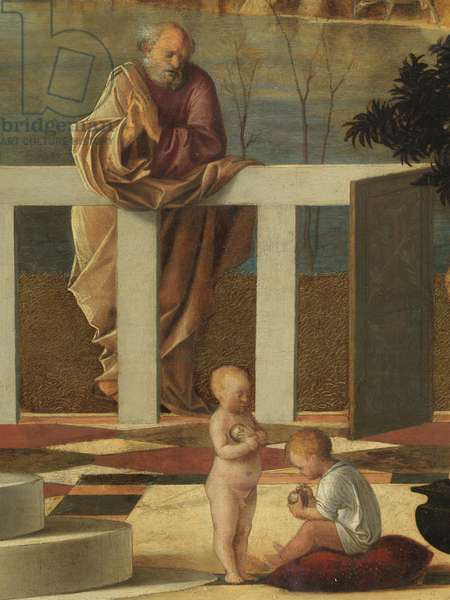 Holy Allegory, by Bellini Giovanni, 16th Century, 1500 -1505 about (oil on panel), cm 73 x 119