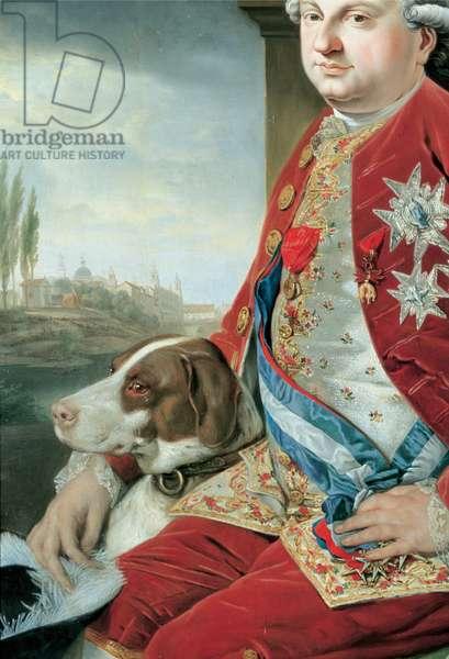 Portrait of Don Ferdinando of Bourbon, 1778 - 1779 (oil on panel)