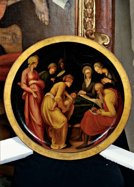 Nativity of St John the Baptist, 1527 (oil on panel)