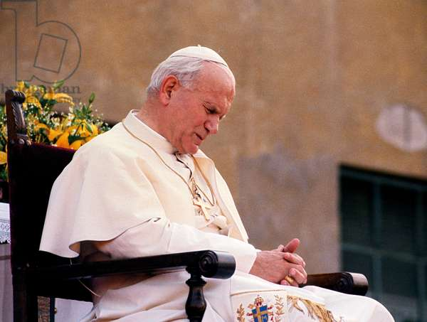 Pope John Paul II, Rome, Italy, 1986 (photo)