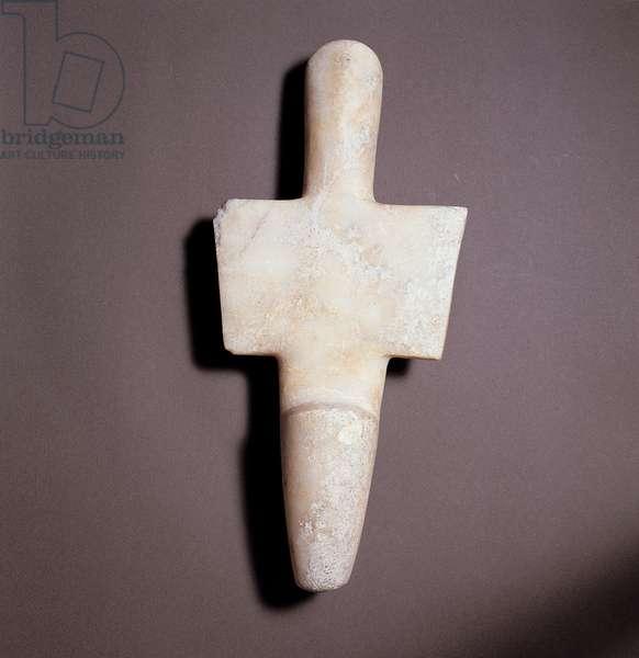 Marble female idol, (marble)