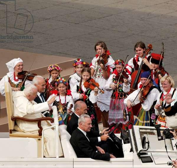 Pope John Paul II, Vatican City, Vatican City State, 2000 (photo)