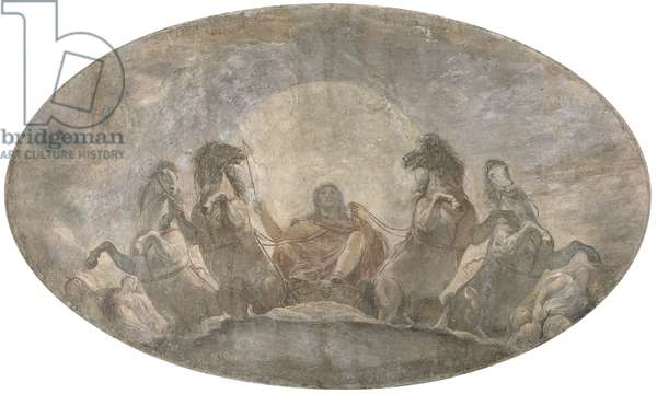 Apollo's Chariot, by Andrea Appiani, 1796, 18th Century, fresco on canvas