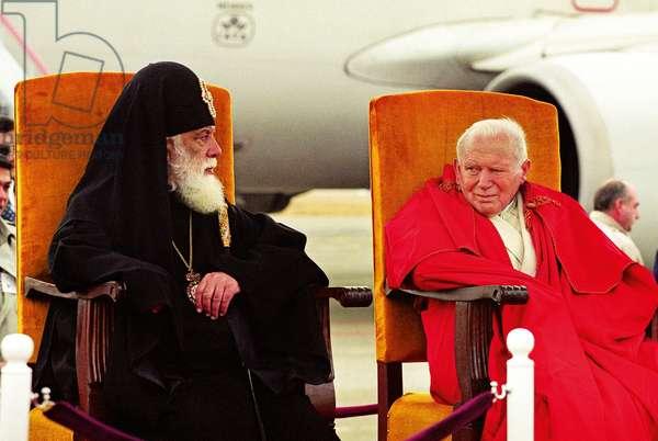 Pope John Paul II, Georgia, 1999 (photo)
