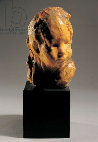 The Child, (wax on plaster)