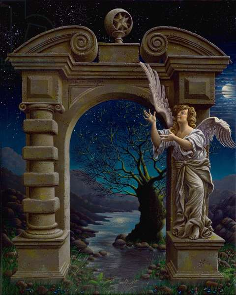 The Portals (Triptych), 2007 (oil on canvas)