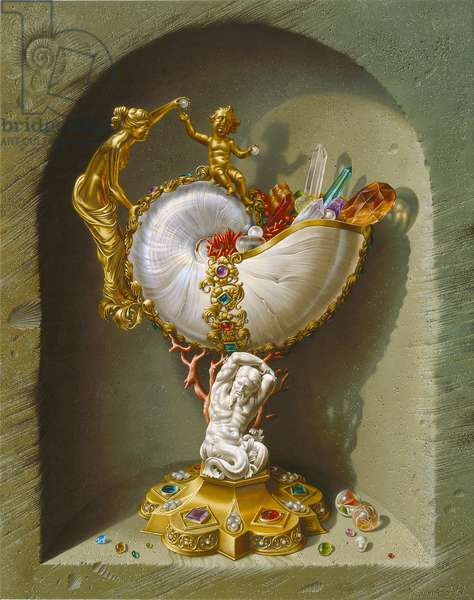 Nautilus Cup, 2007 (oil on canvas)