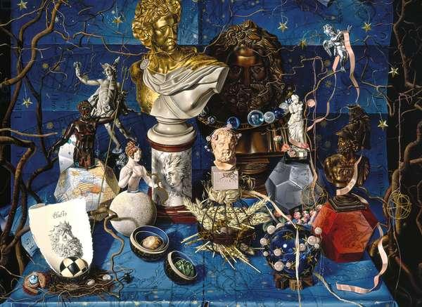 The Heavans, 2003 (oil on canvas)