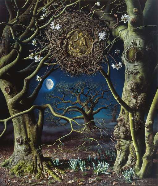The Witching Hour, 2008 (oil on canvas)