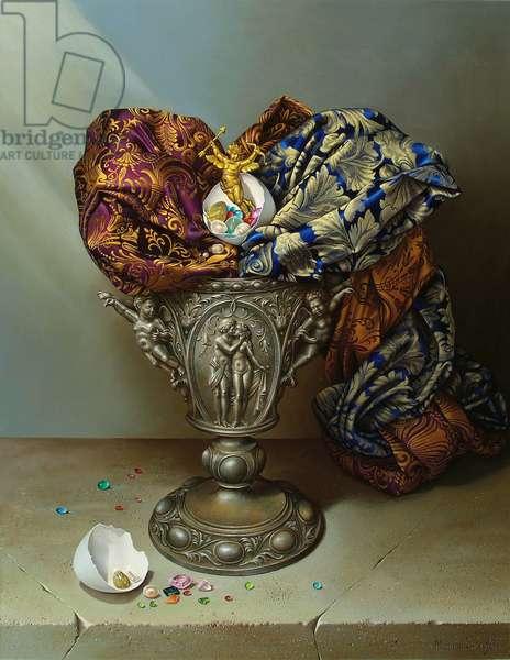Romance, 2007 (oil on canvas)