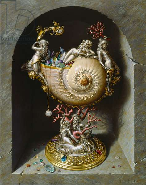 The Nymph Cup, 2007 (oil on canvas)