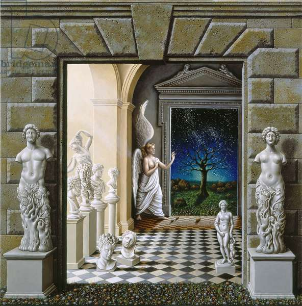 The Portals, 2007 (oil on canvas)