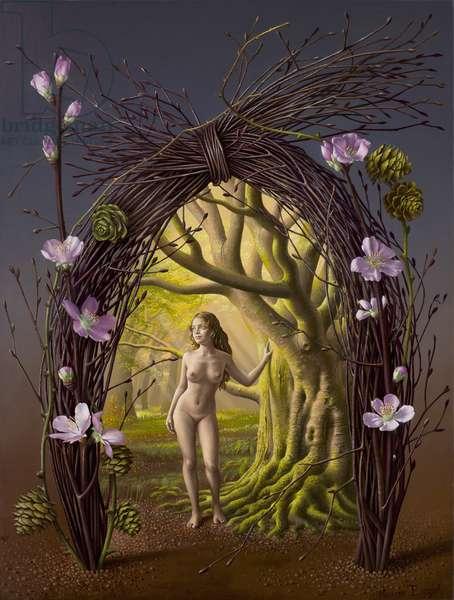 The Nypmh, 2009 (oil on canvas on board)