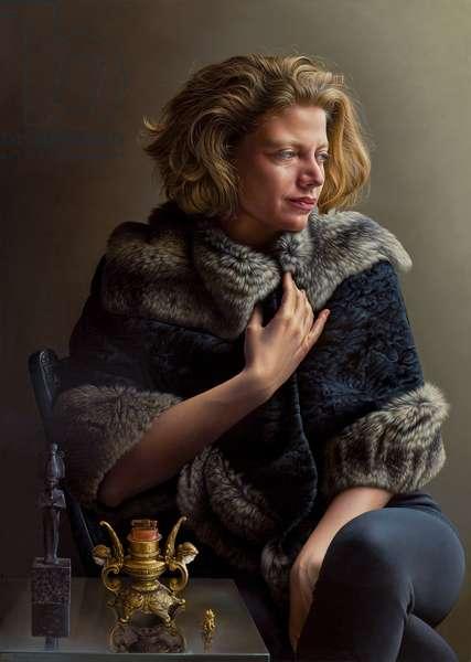 Gillian, 2010 (oil on canvas)