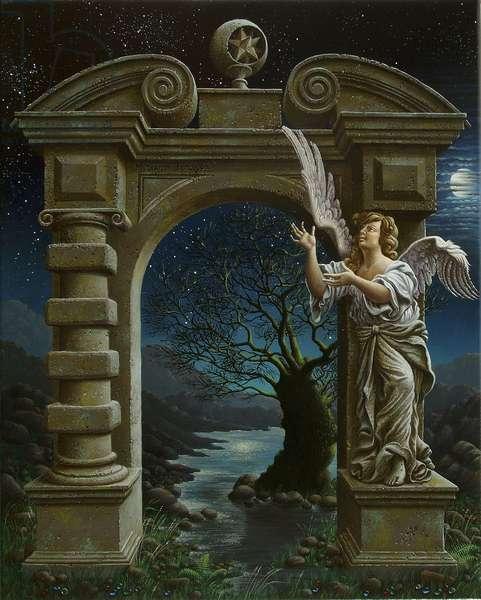 The Portals, 2007 (oil on canvas)