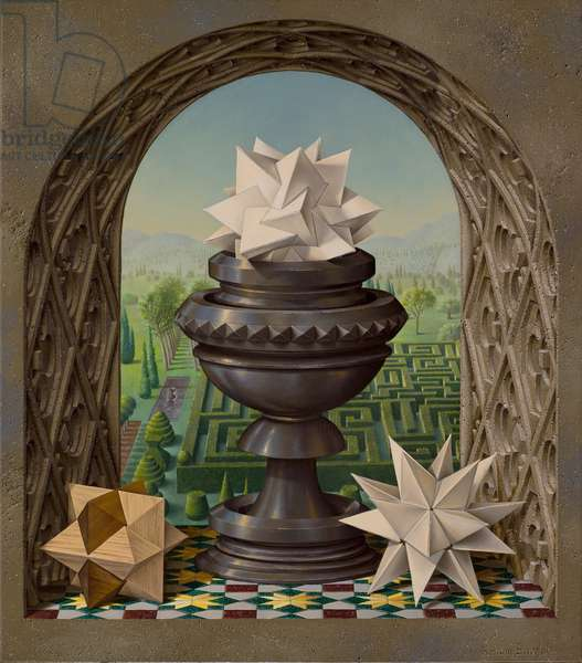 Uccello's Chalice, 2007 (oil on canvas)