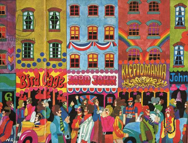 A Saturday Morning 3, from 'Carnaby Street' by Tom Salter, 1970 (colour litho)