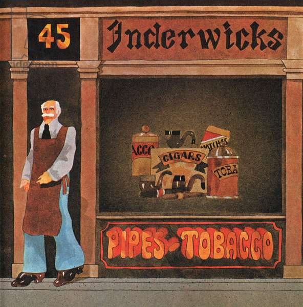 Inderwick's Shop, from 'Carnaby Street' by Tom Salter, 1970 (colour litho)