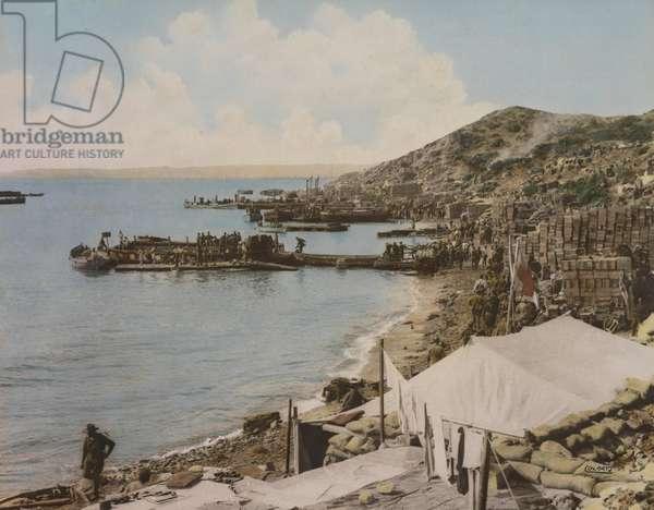 Anzac Cove, Gallipoli, Turkey, 1915 (photo)
