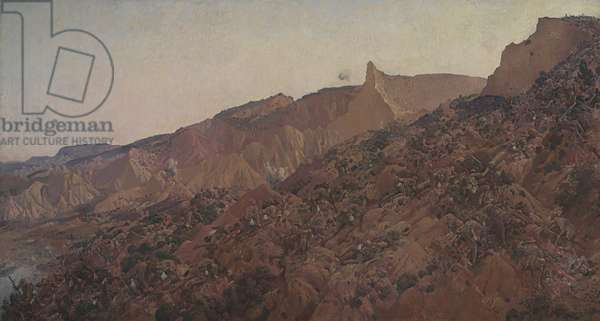 Anzac, the landing 1915, 1917 (oil on canvas)