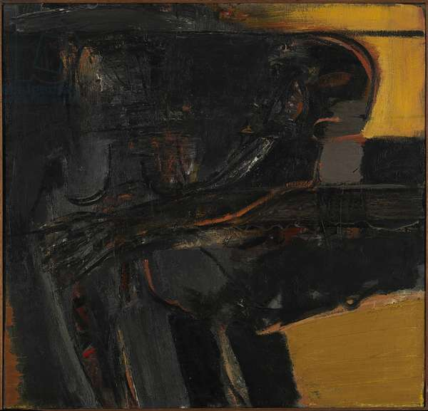 Figures, 1960 (oil on canvas)