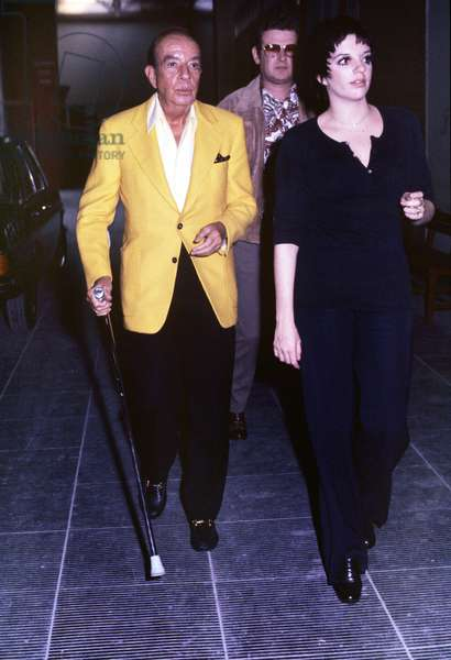Liza Minnelli with her father Vincente (photo)