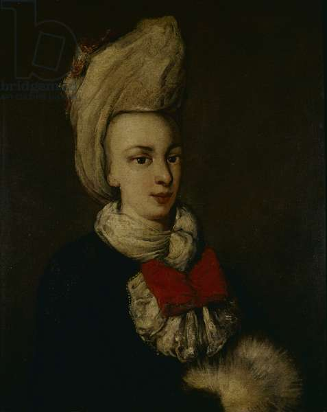 Portrait of Woman (Ritratto Femminile), by Workshop of Francesco Guardi, 18th Century, oil on canvas