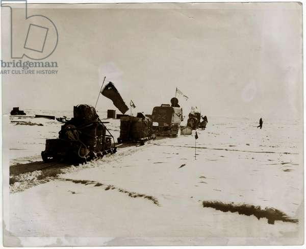 Overland crossing of Antarctica, Antarctica