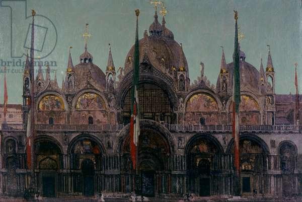 Saint Mark's Basilica, 1896 (oil on canvas)