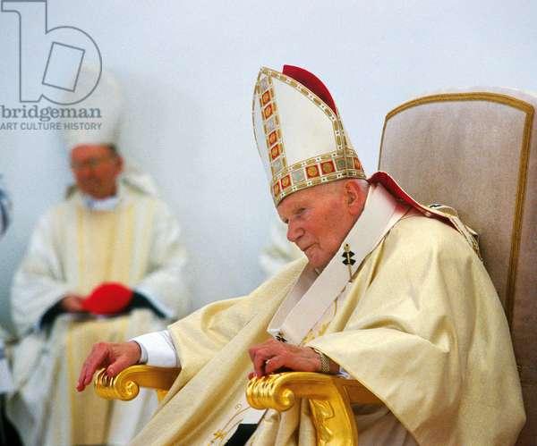 Pope John Paul II, Lagiewniki, Poland
