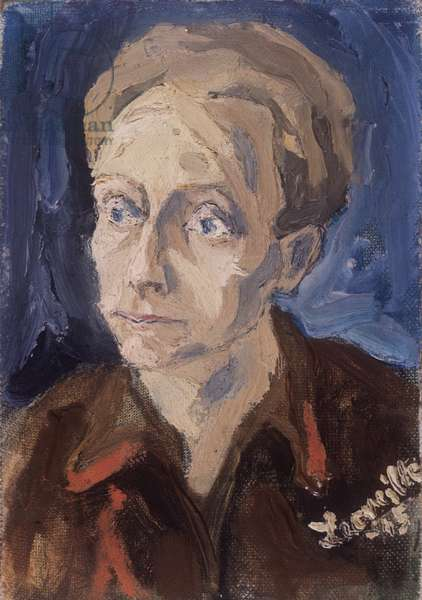 Self portrait, c.1945 (oil on canvas)