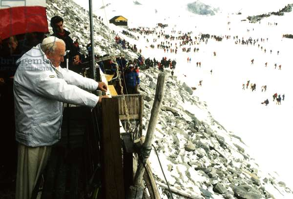 Pope John Paul II, Italy, 1988 (photo)