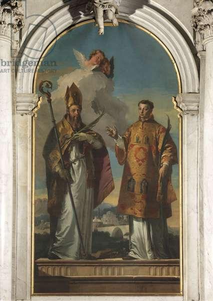 Saints Hermagoras and Fortunatus of Aquileia, by Giambattista Tiepolo, 1735, 18th Century, oil on canvas