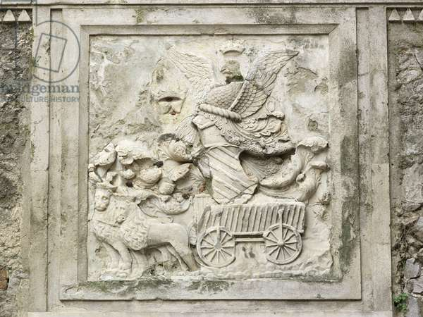 Cart Coat of Arms (bas-relief)
