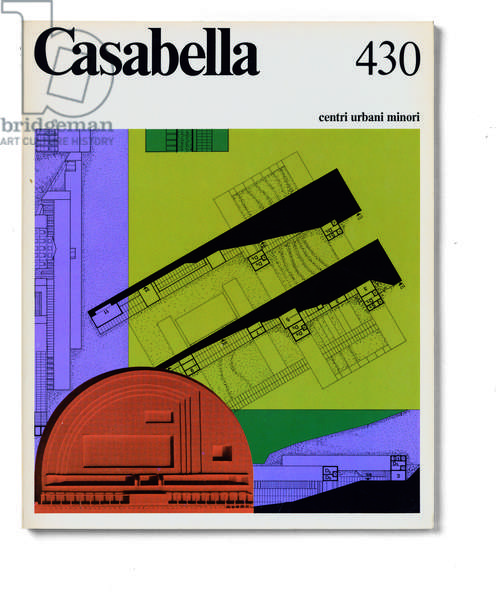 Cover of Casabella, N. 430, November 1977, 20th Century, graphic, 31 x 24,5 cm