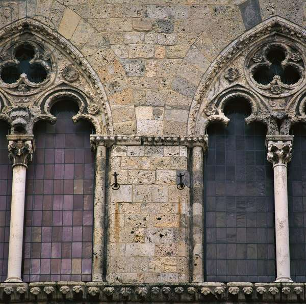 Tolomei Palace (Palazzo Tolomei), 13th Century, travertine